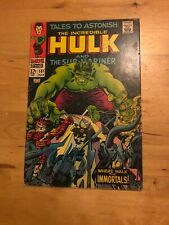 TALES TO ASTONISH # 101  VG+  HULK VS  ASGARDIANS  CENTS  1968