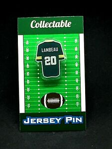 Green Bay Packers Curly Lambeau jersey lapel pin-Classic CHEESE Collectable