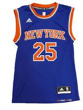 Adidas baloncesto nba new york knicks Jersey camiseta replica talla L número 25 Rose