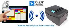 """10"""" Mobiles Kassensystem für Gastronomie: Bondrucker Terminal Software/ Kasse"""