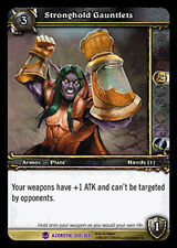 WOW Warcraft TCG ARCHIVES FOIL STRONGHOLD GAUNTLETS X 4