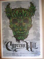 CYPRESS HILL MELBOURNE 08 CONCERT POSTER ART KEN TAYLOR