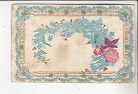 Vintage 1910 Floral Greeting Card Postcard Flowers Used Vintage Card No Stamp