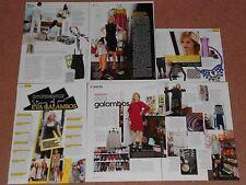 6- EVA GALAMBOS ( PARLOUR X ) Magazine Clippings