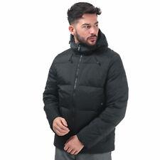 Para Hombre Under Armour Repelente al Agua Transpirable Full Zip chaqueta de plumón en Negro