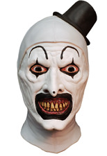 Halloween Terrifier Art the Clown Trick or Treat Studios Latex Deluxe Clown Mask