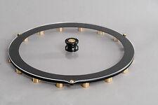 Plattengewicht-Schallplattengewicht/ Record Stabilizer Ring/ Messing Variante