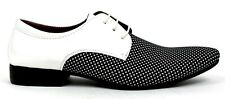New Men's Italian Style Lace Up Wedding Shoes Smart Formal Party Jazz spat Funky