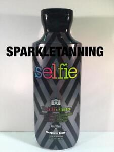 Supre Tan SELFIE Advanced Black 25X Bronzer Indoor Tan Tanning Lotion
