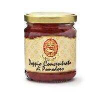 Doppio Concentrato di Pomodoro di Sicilia prodotto artigianalmente.