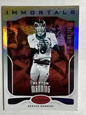 New listing PEYTON MANNING #d /99 MIRROR RED IMMORTALS 2017 CERTIFIED #113 COLTS BRONCOS