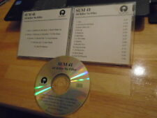 RARE ADVANCE PROMO Sum 41 CD All Killer No Filler pop punk rock TREBLE CHARGER