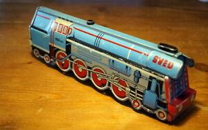 Rarität alte Lokomotive Blechspielzeug Dampflok SVED 1005-001 Friktionsantrieb