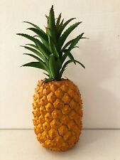 Artificial Large Pineapple Decor Fake Fruit Realistic Life Size Pineapple 11""
