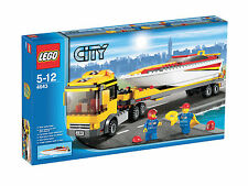 LEGO CITY POWER BOOT TRANSPORTER 4643 NUOVO NEW