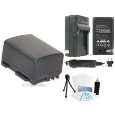 BP-809 Battery + Charger + BONUS for Canon FS31 FS300 Vixia HF10 HF11 HF100 HF20