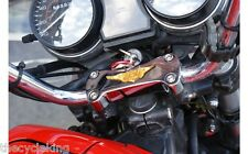 Honda GL1100 Gold Wing GL 1100 GL1000 Goldwing GL 1000 - Chrome Handlebar Clamp