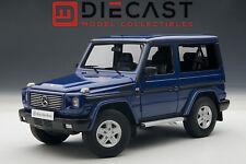 AUTOART 76114 MERCEDES BENZ G500 1998 SWB, BLUE 1:18TH SCALE
