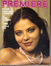 ORNELLA MUTI French PREMIERE Magazine 12/79 WOOD ALLEN