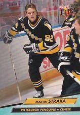 PITTSBURGH PENGUINS MARTIN STRAKA 1992-93 FLEER ULTRA #382 ROOKIE CARD RC
