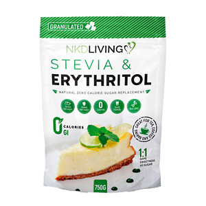 Erythritol and Stevia - 1:1 zero calorie sugar replacement 750g