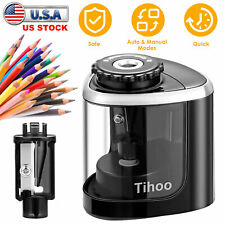 Electric Pencil Sharpener Automatic Touch Switch School Office Classroom Student