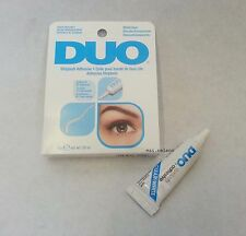 0.25oz DUO False Eyelash Glue Adhesive CLEAR 7g waterproof / Eye lashes make up