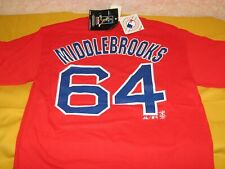 Will Middlebrooks #64 Boston Red Sox MLB Baseball Jersey T-Shirt New! NWT MEDIUM