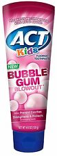 ACT Kids Bubblegum Blowout Toothpaste 4.6 ounce