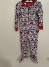 Christmas Baby Footed Pajamas