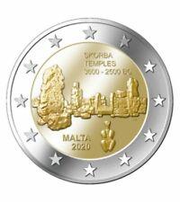 2 Euro Gedenkmünze Malta 2020 Ta´ Skorba UNC aus Rollen VVK Vorverkauf presale