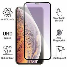 Anti Blue Light Filter Tempered Glass Screen Protector for iPhone X XS XR MAX 3D