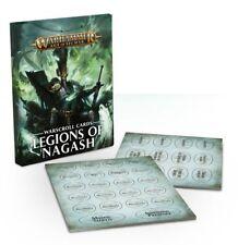 Games Workshop-Warhammer Age of Sigmar-warscroll cards Legions of Nagash