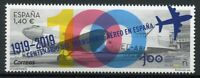 Spain Aviation Stamps 2019 MNH Air Transport 100th Anniv Aircraft 1v Set