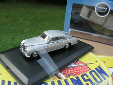 OXFORD 1/43 METAL BENTLEY S1 CONTINENTAL GRISE Métal fastback !