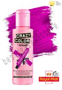 Crazy Colour Semi Permanent Conditioning Hair Dye Hair Colour Cream 100ml