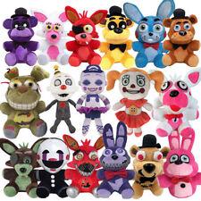 """FNAF Five Nights at Freddy's Plush Stuffed Toys 6"""" Plush Bear Foxy Bonnie chica."""