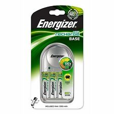 Energizer 632229 Battery Charger with 4 x AA Batteries
