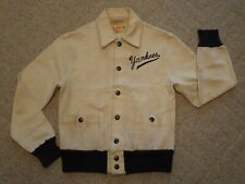 Vintage 1940/50's H. L. Whiting Co. Child's Sports Jacket Yankees Sportsman Reno