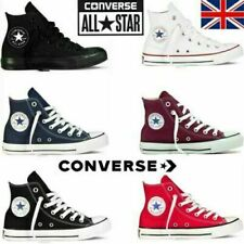 Converse Mens Women Trainers High Tops Chuck Taylor All Star Casual Shoes UK NEW