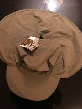 Brand New DORFMAN PACIFIC Co pêche coiffure fait main, Olive Taille S/M