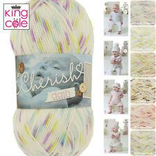 King Cole Cherish Dash DK 100% Acrylic Self Patterning Knitting Yarn 100g Balls