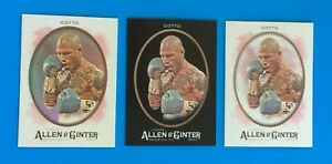 3 DIFF. 2017 TOPPS  Allen & Ginter MIGUEL COTTO . PROFESSIONAL BOXER . # 284