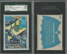 1966 Topps, Batman B Series, #36B A Pressing Position, SGC 88 NMMT
