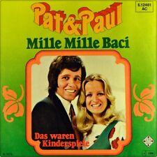 "7"" PAT & PAUL Mille Mille Baci CV PETER ALEXANDER & MARGIT IMLAU TELEFUNKEN 1979"