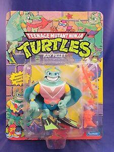 Vintage Playmates TMNT Teenage Mutant Ninja Turtles Ray Fillet MIB