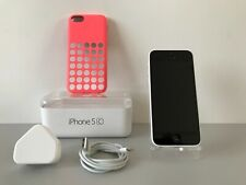 iPhone 5c 8GB White Lock To O2 UK Boxed !!! Very Good Condition !!!