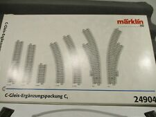 Märklin H0 24904 C-Gleis Ergänzungspackung C4 in OVP