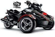 "Can Am Spyder GS RS RSS graphic wrap decal kit ""Oh Canada"" - Hood & Fender"