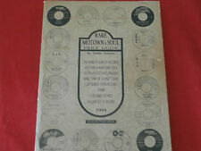 MOTOWN PRICE GUIDE~ BY SIMON SOUSSAN ~RARE ~~ 1ST EDITION ~ RECORD PRICE GUIDE